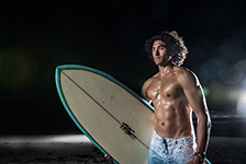 JJ Miller Night Surf Shoot